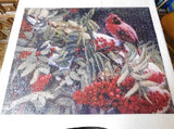 "Hallmark ""Cardinal in Pepperberries"" Puzzle, 1000 Pieces 