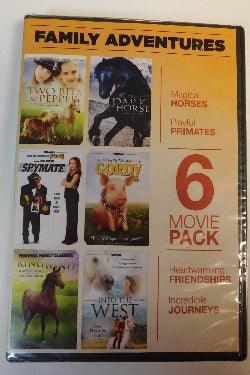Family Adventures 6 Movie Pack (DVD, 2011) | Books & More Bookstore