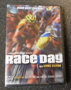 realRides Presents Race Day with Robbie Ventura (DVD, 2007) | Books & More Bookstore
