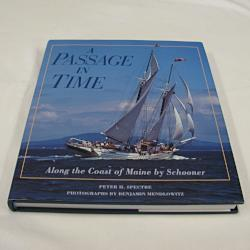 A Passage in Time Along the Coast of Maine by Peter H. Spectre (HC 1991) | Books & More Bookstore