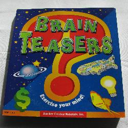 Brain Teasers by Kathleen Christopher Null (PB 1999) | Books & More Bookstore