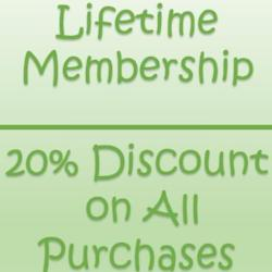 Membership, Lifetime | Books & More Bookstore