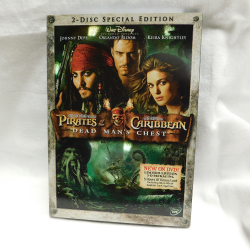 Pirates of the Caribbean   Dead Man's Chest (DVD, 2006, #53114) | Books & More Bookstore