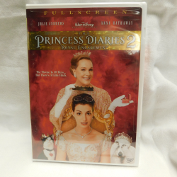 Princess Diaries 2 (DVD, 2004, #35945) | Books & More Bookstore