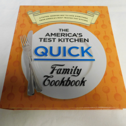 The America's Test Kitchen Quick Family Cookbook (5-Ring Binder, 2012) | Books & More Bookstore