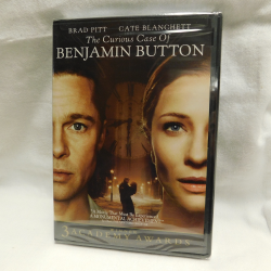 The Curious Case of Bejamin Button   (DVD, 2008, 33372) | Books & More Bookstore
