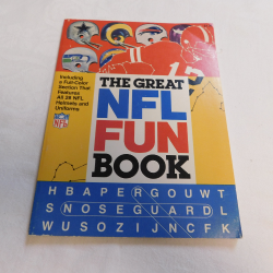The Great NFL Fun Book by Ted Brock, editor (PB, 1978) | Books & More Bookstore