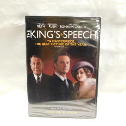 The King's Speech (DVD, 2011, #WC23130) | Books & More Bookstore