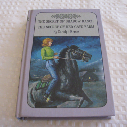 The Secret of Shadow Ranch (1965)/The Secret of Red Gate Farm (1961) by Carolyn Keene (HC) | Books & More Bookstore