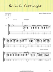 "Official Guitar Tabs for ""We Couldn't Think of a Title"""