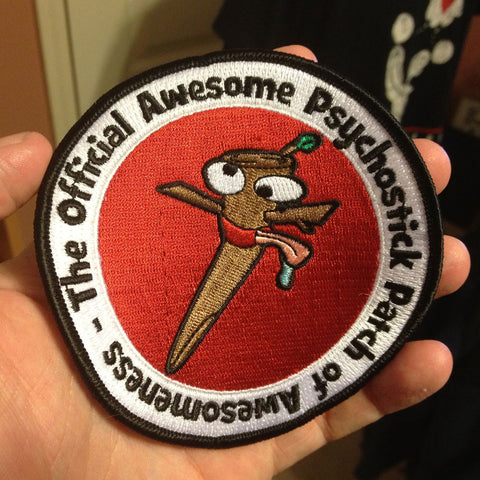 "Patch- ""Official Awesome Patch of Awesomeness"" (4"")"