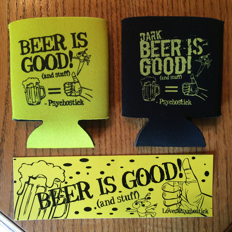 "Koozie ""Beer is Good"" Bundle"