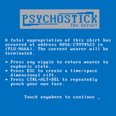 """Blue Screen"" Tee"