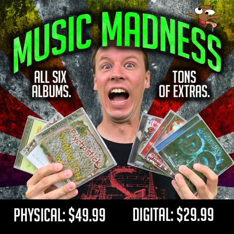 Music Madness! ALL albums + singles