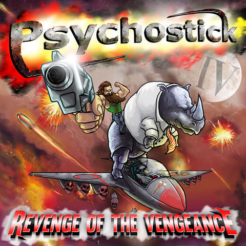 "CD-(2014) ""IV: Revenge of the Vengeance"" (CD and/or Digital Download)"
