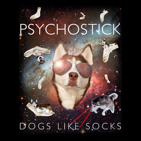 """Dogs Like Socks in SPACE"" Tee"