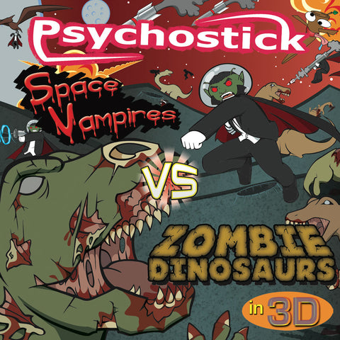 "CD-(2011) ""Space Vampires VS Zombie Dinosaurs in 3D"" (CD and/or Digital Download)"