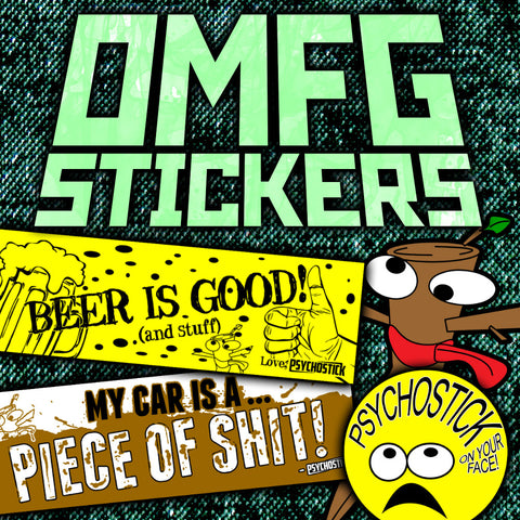 Stickers! So Many Stickers!