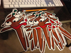 "Sticker- ""Stic"" - (Die Cut Vinyl, 8'' x 5.5'')"