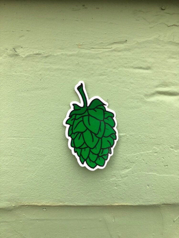 Hops Sticker - Rainbow or Green