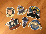 Iron Giant Sticker Pack