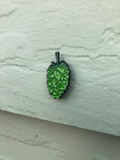 Hops Enamel Pin - Green and Rainbow
