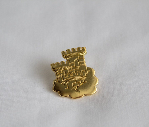 Castle in the Sky Enamel Pin