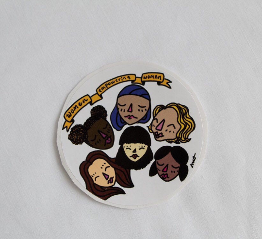 Women Empowering Women Sticker