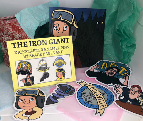 Iron Giant B-Grade Gift Box