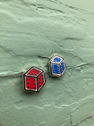 Sixes Dice Pin Set