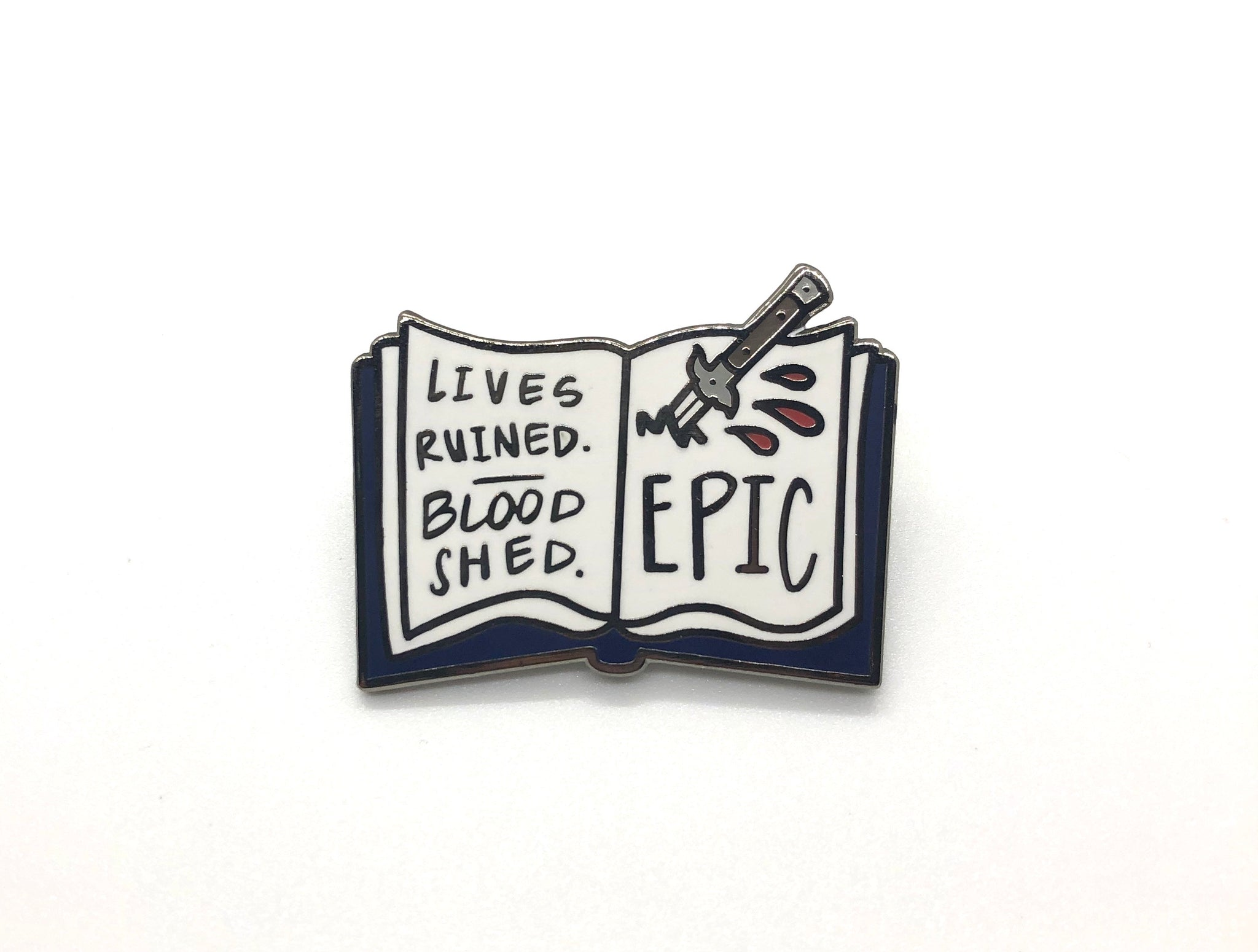 """Our Story is Epic"" - Veronica Mars inspired enamel pin"