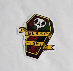 Sleep Tight Sticker - Vinyl Sticker