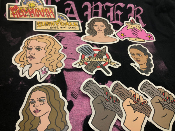 Buffy the Vampire Slayer Sticker Pack