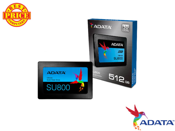 "ADATA Ultimate SU800 2.5/"" 512GB SATA III 3D NAND Internal Solid State Drive SSD"