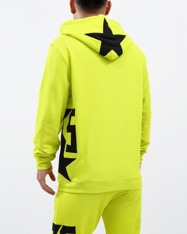 Side Star Hoody - Color: GREEN