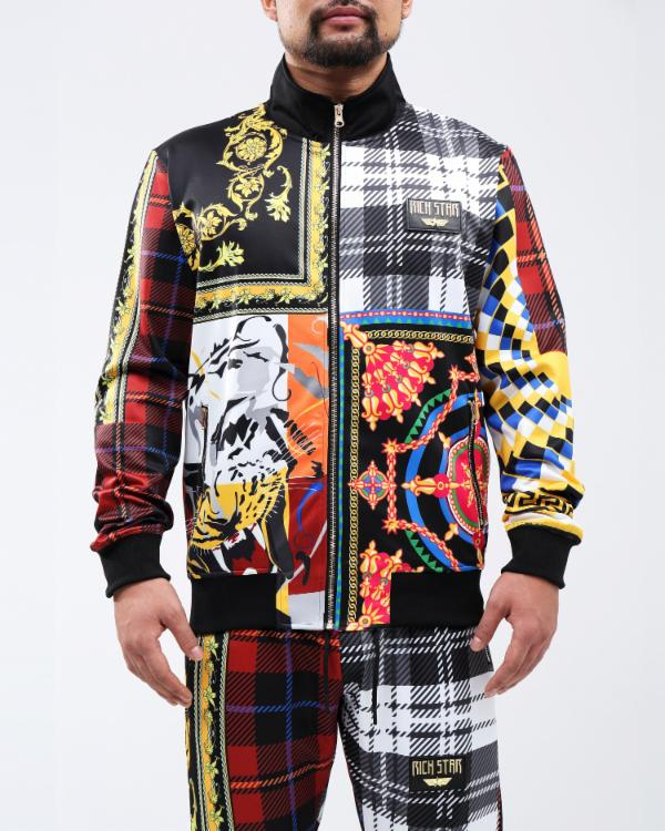 RS LUX COLLAGE TRACK JACKET