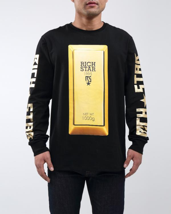 RICH BULLION LS TEE