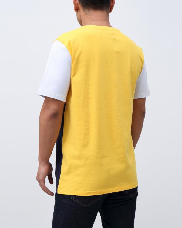 RICH ATHLETICS OG TEE-COLOR: YELLOW