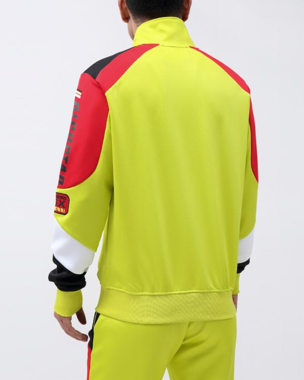 STAR MONO RX95 TRACK JACKET-COLOR: YELLOW
