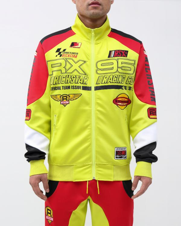 STAR MOTO RX95 TRACK JACKET-COLOR: YELLOW
