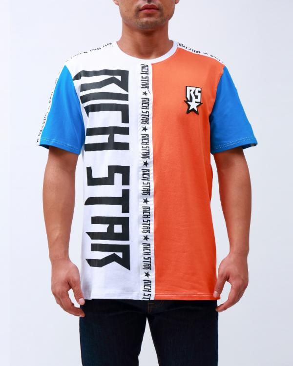 DOUBLE LOGO TAPED SHIRT
