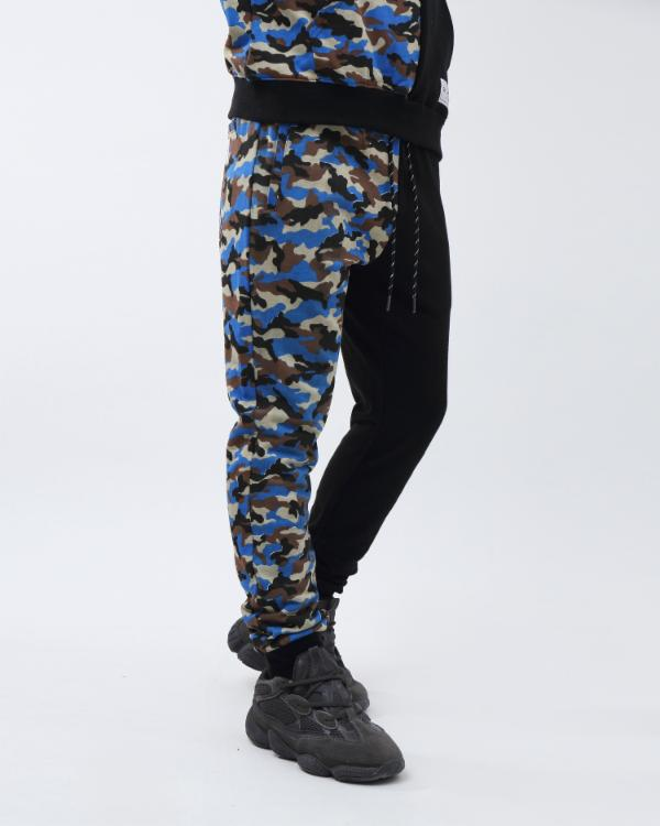 CAMO SPLASH JOGGER-COLOR: BLUE
