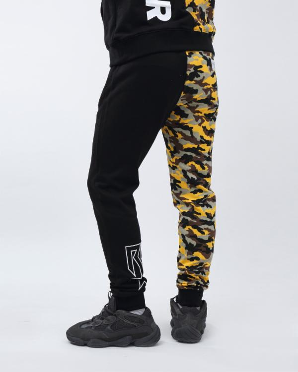 CAMO SPLASH JOGGER-COLOR: YELLOW