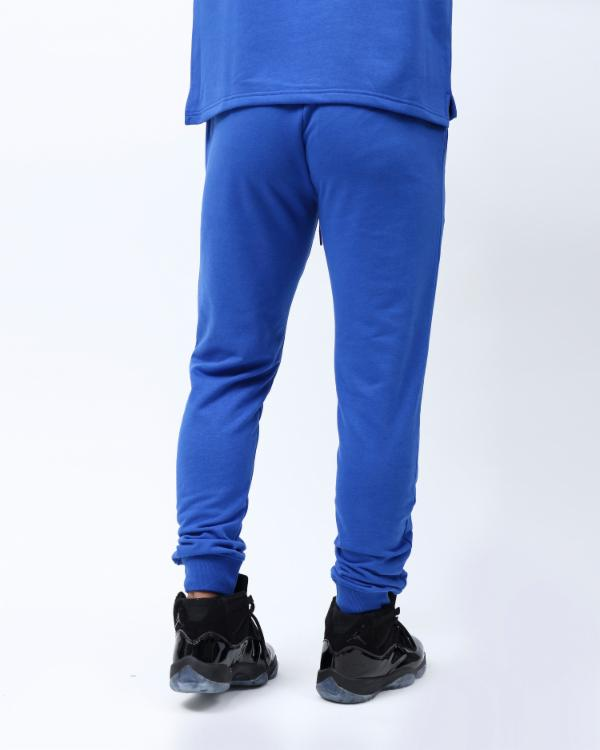 RAINBOW TYPE JOGGER-COLOR: ROYAL BLUE