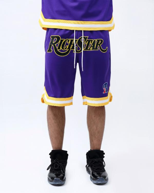 SNAKESKIN BASKETBALL SHORT