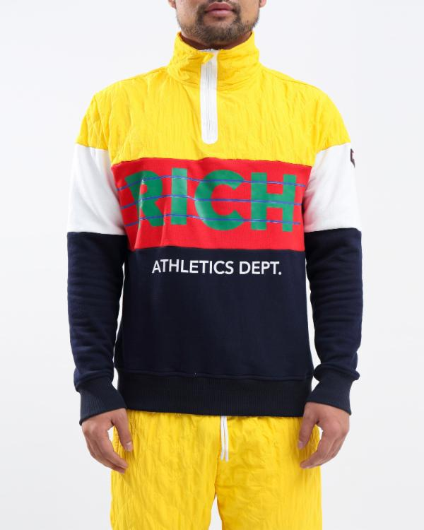 Rich Athletic Pull Over Half Zip
