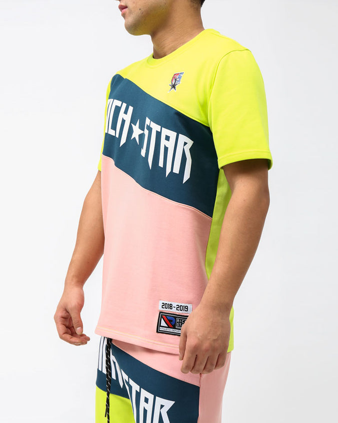 MOSTER SPORT SHIRT-COLOR: PINK