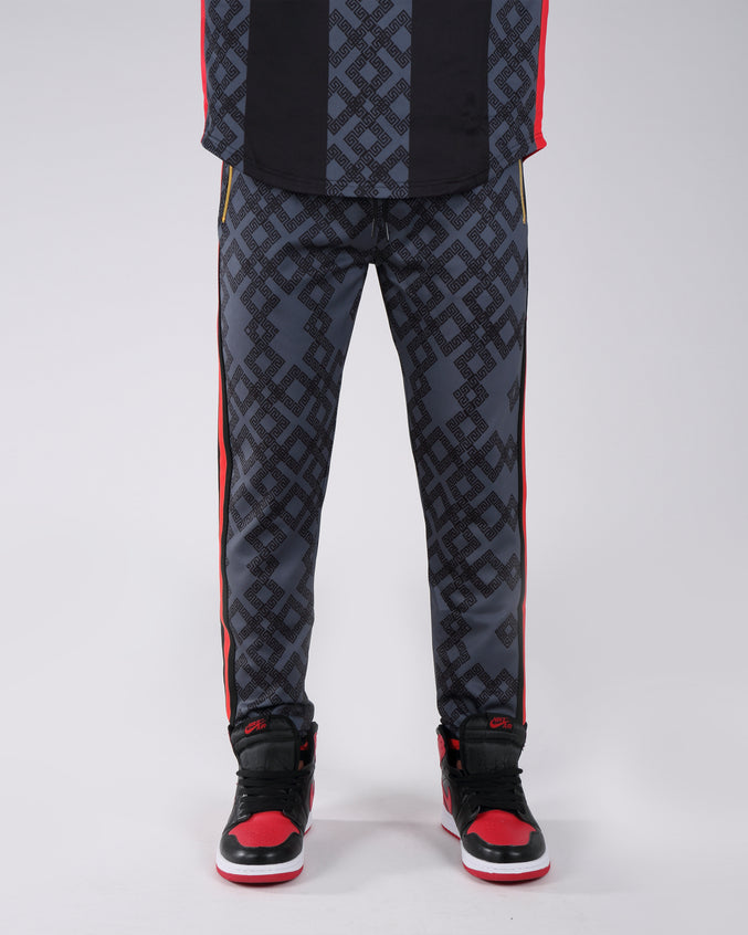 Rich Star Golden Track Pant - Color: BLACK