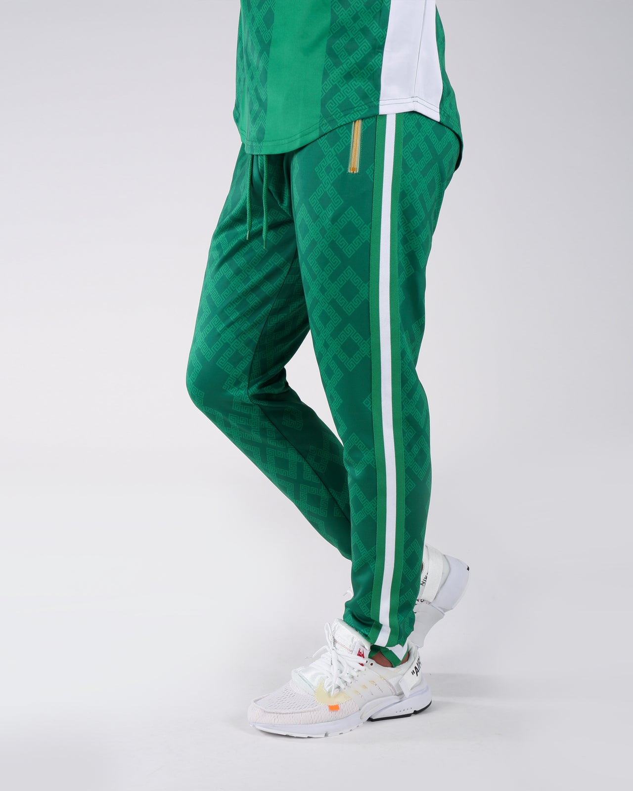 Rich Star Golden Track Pant - Color: GREEN