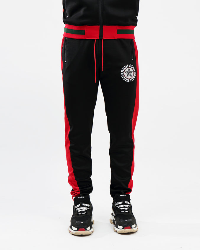 BIG LOGO TRACK PANT - Color: BLACK